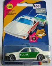 SIKU 1311  POLIZEI Mercedes-Benz 300 E (Baureihe W 124) Peterwagen minzgrün OVP
