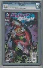 Harley Quinn #7 CGC 9.8 NM/M DC Comics New 52 8/14 Amanda Conner Cover