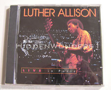 LUTHER ALLISON LIVE IN PARIS RUF RECORDS RRCO 1001 CHICAGO BLUES   CD is sealed