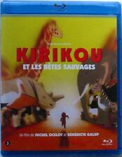BLU-RAY  KIRIKOU ET LES BETES SAUVAGES - Michel OCELOT / Benedicte GALUP - NEUF