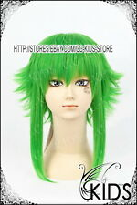 GUMI Megpoid cosplay wig costume Dark green colour