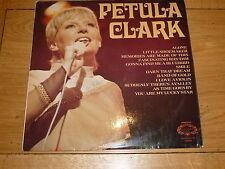 PETULA CLARK - Petula Clark - UK 12-track Hallmark  / Pye LP