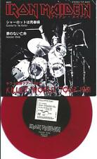 """IRON MAIDEN charlotte the harlot (red vinyl with PS) live killer tour EX/EX 7"""""""
