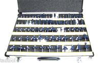 "80 pc 1/4"" Shank Tungsten Carbide Router Bit set Woodworking tool kit CMT"