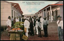GUANTANAMO BAY CUBA Caimanera Street Market Antique PC Postcard