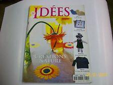 idées .  magazine des femmes creatrices   .  22    TBE