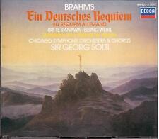 Brahms: A German Requiem (Un Requiem Tedesco) / Solti, Te Kawana - CD Decca