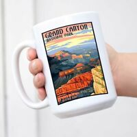 Grand Canyon National Park Travel Vintage Coffee Tea Mug Cup Gift