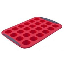 NEW D.Line Silicone Bakeware Mini Muffin Pan 24 Cup