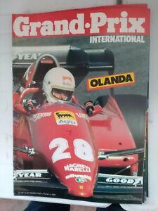 RIVISTA GRAND PRIX INTERNATIONAL N°69 1983 OLANDA