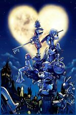 Kingdom Hearts - Beautiful  Wall Poster - Huge  - 20 in x 30 in - Fast shipping