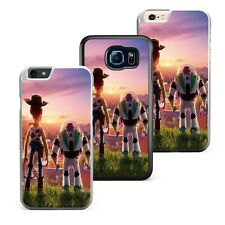 Cute Movie Toy Story 4 Characters Sheriff Woody Plastic/ Tpu Phone Case Cover
