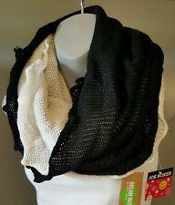 Scarf Knit Neck Warmer Black White Trendy Hip Selena Gomez Gift Idea