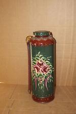 painted vintage simplea copper fire extinguisher