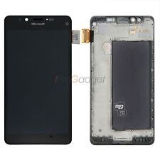 Black Display For Nokia Lumia 950 LCD Screen Touch Digitizer With Frame Assembly