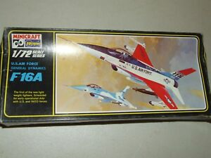 HASEGAWA Model Kit - U.S. Air Force General Dynamics F16A 1/72 Unassembled # 110