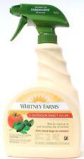 Whitney Farms Outdoor Insect Killer Flower & Vegetables 32oz Bottle