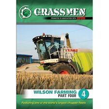 Grassmen Wilson Farming Part 4 DVDs New/Tractors/Ireland/UK/Country/Farming sale