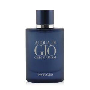 NEW Giorgio Armani Acqua Di Gio Profondo EDP Spray 75ml Perfume