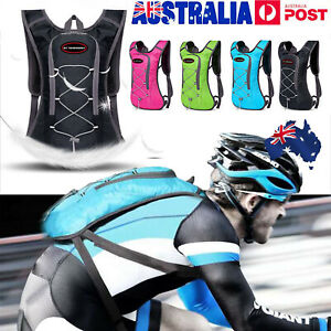 Sport Vest Hydration Backpack 2L Water Bladder Bag For Cycling Hiking Running AU