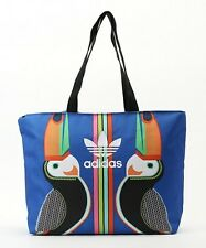 ADIDAS ORIGINALS x FARM TUKANA SHOPPER BAG AJ8702 Blue Tote shopping toucan