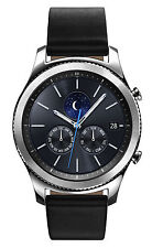 Samsung Gear S3 Classic R775 Verizon 46mm Smartwatch With Black Leather Band