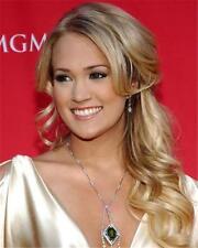 Carrie Underwood Cream Dress 8x10 Glossy Photo