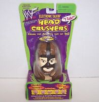 "Rare! 1999 WWF Planet Toys ""Mankind"" Electronic Talkin' Head Crushers [284]"