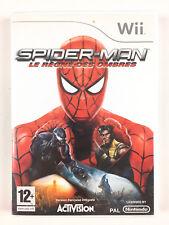 Spider-Man Le règne des ombres Wii Jeu Nintendo