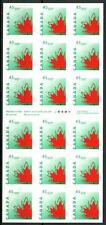 CANADA - Libretto - 1998 - Foglia d'acero stilizzata (libretto da 8 $ 10 c.) -