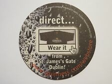 Beer Coaster: Guinness Brewery from St Jame's Gate, Dublin, IRELAND <> WebStore