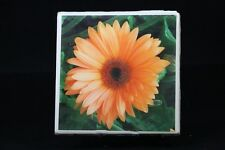 Ceramic Tile Coasters, Photo Tile Coasters, unique photos, homemade, flower