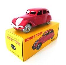Peugeot 402 red DINKY TOYS DeAGOSTINI 1:43 DIECAST MODEL CAR 24K