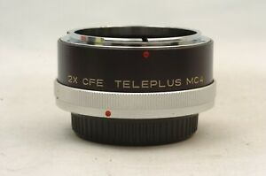 @ Ship in 24 Hours @ Discount @ Kenko 2X CFE Teleplus MC4 Canon FD Teleconverter
