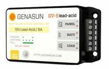 GENASUN GV-5-PB-12V, 5A MPPT CONTROLLER WITH LVD FOR 12V LEAD ACID BATTERIES