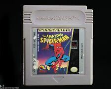 The Amazing Spider-Man [WORN LABEL Nintendo Game Boy Peter Parker Marvel Action]