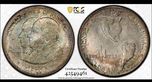 1923 S Monroe Commemorative Half Dollar PCGS MS66+