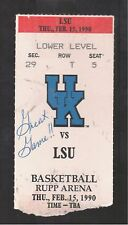SHAQUILLE O'NEAL 1989-90 LSU VS UK FAMOUS GAME SHAQ LOST ONLY 1 EARLIER ON EBAY