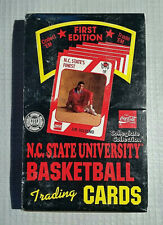 Vintage 1989 1st Edition NC STATE University Basketball Cards Unopened Full Box