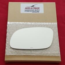 Mirror Glass + Adhesive For 95-99 Hyundai Accent Driver Side Replacement
