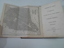 AMERICAN LIFE A Narrative of 2 Years' City+Country Residence In USA 1842 FELTON