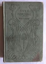 VERY RARE 1900 vintage book GUY'S FORTUNE M. B. Eagan Collectable