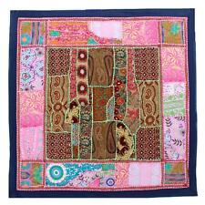 Wall Hanging Vintage Antique Hippie Hippy Embroidered Patchwork Tapestry