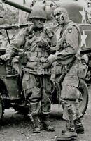 WW2 Picture Photo 101st Airborne Division at Utah Beach 3220