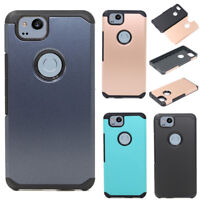 For Google Pixel 2/XL 2 Hybrid Armor Hard Case Impact Protective Cover Skin Back
