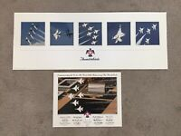 Lot Of 2 USAF Thunderbirds F-16 Posters