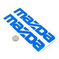 Mazda Stickers Decal Car Vinyl 200mm x2 Mazda Text MX5 Miata RX7 RX8 Decal
