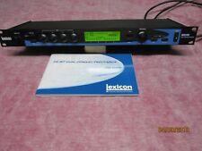 LEXICON MPX 550 Stereo 24 BIT Dual Channel Digital Effekt Prozessor