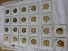 Australian $1 dollar commemorative coin collection 1986 to 2017 UNC coins set