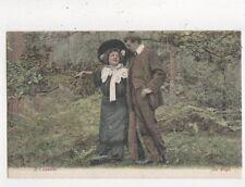 A Coquette [JWS 2646] Vintage J Welch Postcard 787a